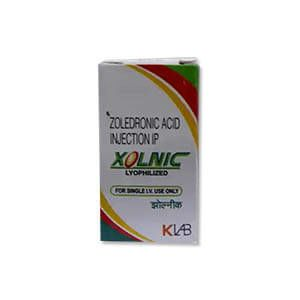 Xolnic Zoledronic 4mg Injection