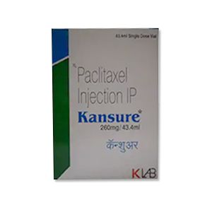 Kansure Paclitaxel 260mg Injection
