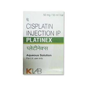 Platinex Cisplatin 50mg/50ml Injection