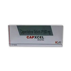 Capxcel Capecitabine 500mg Tablet