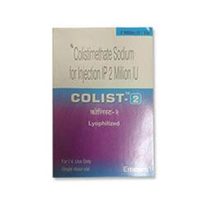 Colist Colistimethate 2 MIU Injection
