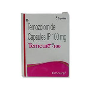 Temcure Temozolomide 100mg Capsule
