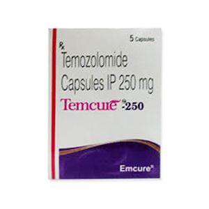 Temcure Temozolomide 250mg Capsule