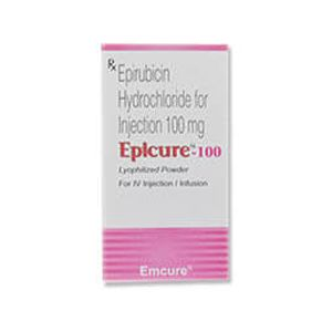 Epicure Epirubicin 100mg Injection