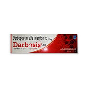 Darbosis Darbepoetin 40mcg Injection