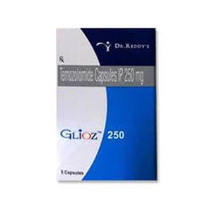 Glioz Temozolomide 250mg Capsule