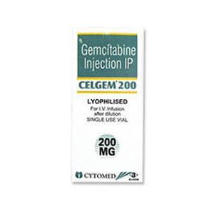 Celgem Gemcitabine 200mg Injection