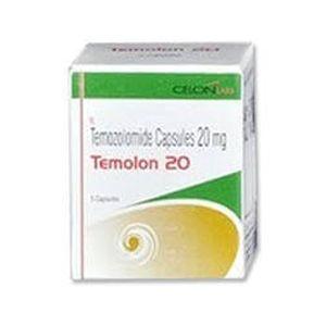 Temolon Temozolomide 20mg Capsule