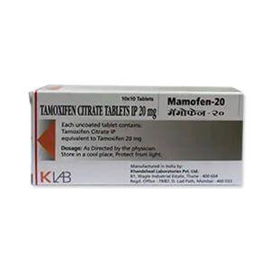 Mamofen Tamoxifen 20mg Tablet