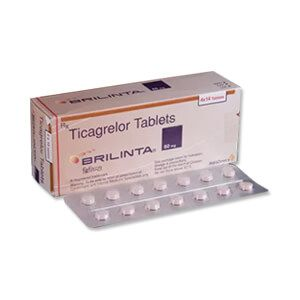 Brilinta Ticagrelor 60mg Tablet