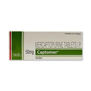 Captomer Mercaptopurine 50mg Tablet