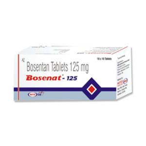 Bosenat Bosentan 125mg Tablet
