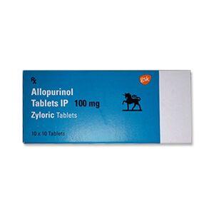 Zyloric Allopurinol 100mg Tablet
