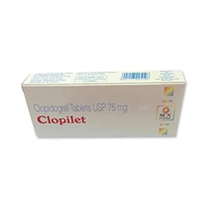 Clopilet 75 mg Tablet 15's Buy Online at Lowest Price