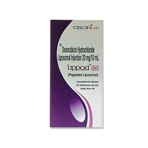 Lippod Doxorubicin 20mg Injection