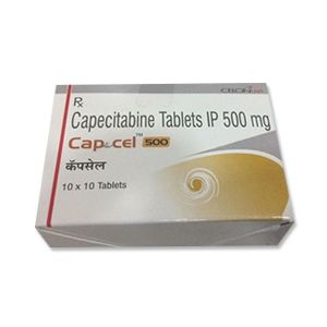 Capcel Capecitabine 500mg Tablet