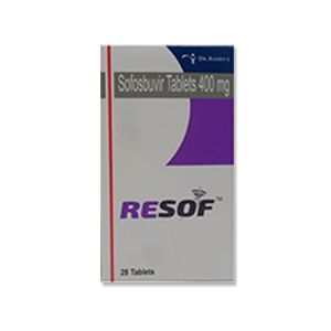 Resof : Sofosbuvir 400 mg Tablet 28'S