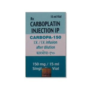 Carbopa Carboplatin 150mg Injection