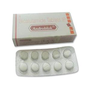 Androblok Bicalutamide 50mg Tablets