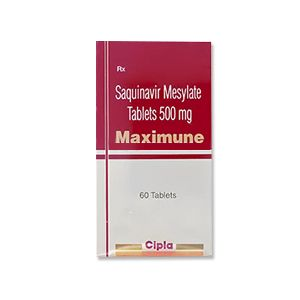 Maximune 500 mg Saquinavir Tablets