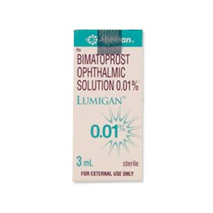 Lumigan 0.01% Bimatoprost Eye Drop