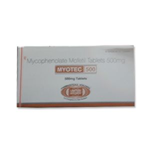 Myotec Mycophenolate Mofetil 500mg Tablet