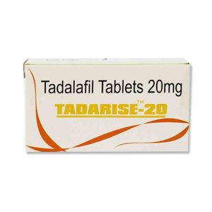 Tadarise : Tadalafil 20 mg Tablet 10'S