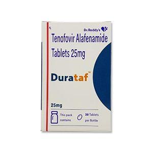 Durataf  Tenofovir Alafenamide 25mg Tablet