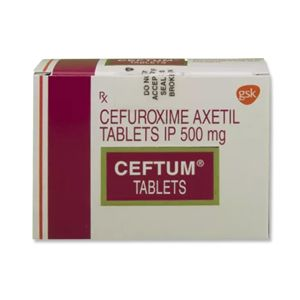 Ceftum 500 mg Cefuroxime Tablets