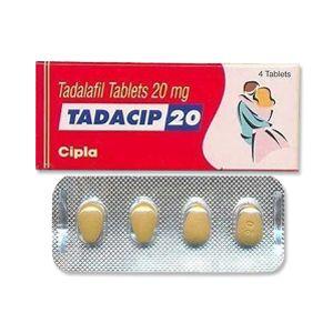Tadacip Tadalafil 20 mg Tablet