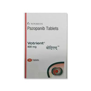 Votrient Pazopanib 400 mg Tablet