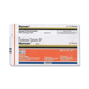 Honvan Fosfestrol 120 mg Tablets