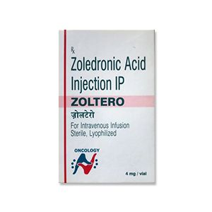 Zoltero 4 mg Zoledronic Acid Injection