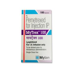 Mytrex Pemetrexed 100mg Injection