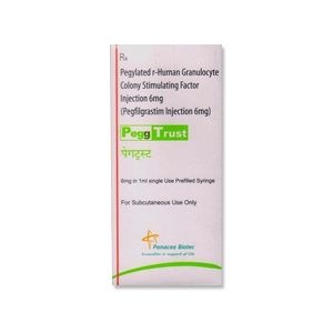 PeggTrust Pegfilgrastim 6mg Injection