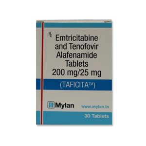 Taficita : Emtricitabine and Tenofovir Alafenamide Tablet 30'S