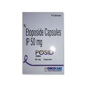 Posid 50 mg Etoposide Capsule