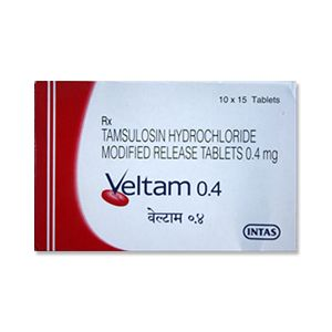Veltam Tamsulosin 0.4mg Tablets