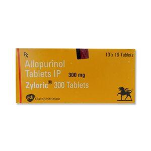 Zyloric Allopurinol 300mg Tablet