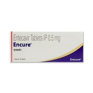 Encure Entecavir 0.5mg Tablet