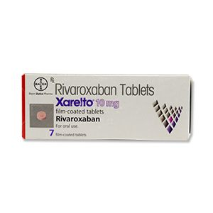 Xarelto Rivaroxaban 10 mg Tablets