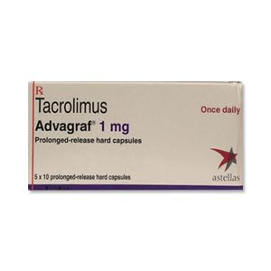 Advagraf Tacrolimus 1mg Capsule