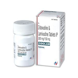 Zidolam Zidovudine & Lamivudine Tablet