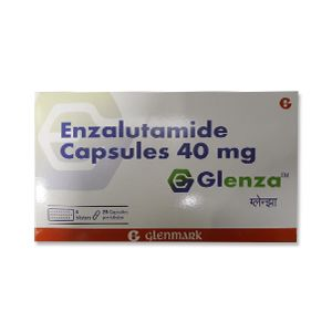 Glenza 40mg Enzalutamide Capsules