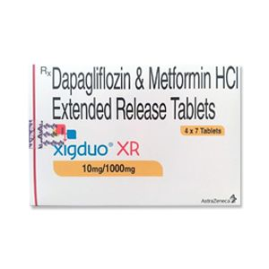Xigduo XR 10mg/1000mg : Dapagliflozin and Metformin Tablet 28'S