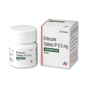 Cronivir 0.5mg Tablet