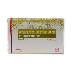 Bicatero 50 mg Bicalutamide Tablet