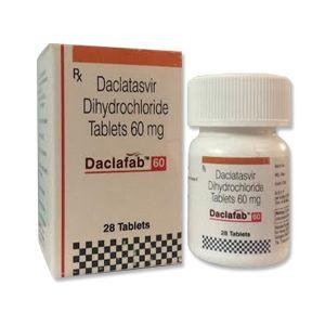 Daclafab 60 mg Daclatasvir Tablet