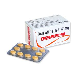 Tadarise Tadalafil 40mg Tablet