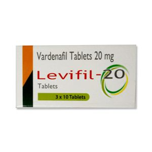 Levifil 20mg Vardenafil Tablets
